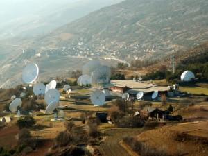 Satellitenbodenstation Leuk