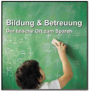 Bildung-Betreuung-falscher-Ort-zum-Sparen